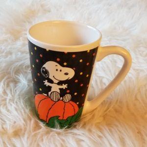 Snoopy Halloween 16 oz Tall Latte Coffee Cocoa Mug